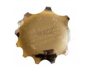 Forma kovová pro akrylové nehty 11 výřezů