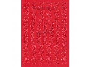 Samolepky Creativ spirálky - červené