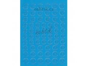 Samolepky Creativ spirálky - modré