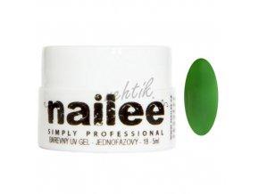 Akce Barevný UV gel bez výpotku 03 zelený Nailee