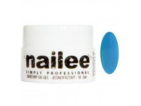 Akce Barevný UV gel bez výpotku 04 modrý Nailee
