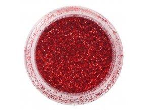 Glitry Nailee 14 tmavě červené
