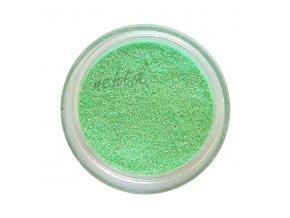 glitry na nehty zelena