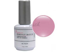Gel lak Perfect Match (sada) - Pink Lace Veil