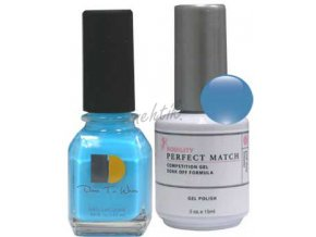 Gel lak Perfect Match (sada) - Old, New, Borrowed, Blue výprodej