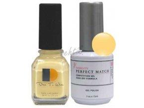 Gel lak Perfect Match (sada) - Happily ever after výprodej