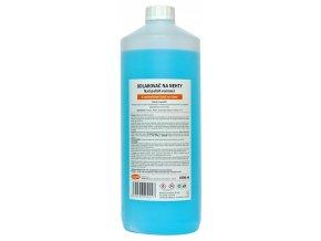 Acetonový odlakovač na nehty 1000ml -  modrý