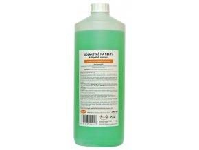 Acetonový odlakovač na nehty 1000ml - zelený