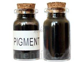 Barevný pigment do gelu černý