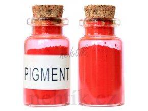 Barevný pigment do gelu červený