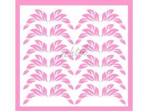 Samolepky Art na nehty lístečky sv.růžové - 32-1