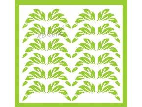 Samolepky Art na nehty lístečky sv. zelené 33-1