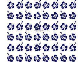 Samolepky Art na nehty kytičky modrá -426-3