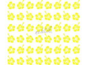 Samolepky Art na nehty kytičky žlutá -430-3