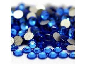 Broušené zirkonky modré SS6 - 50 ks v sáčku