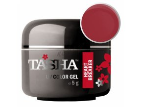 Uv gel barevný Tasha Heart Breaker 5g - Black Line