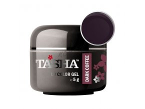 Uv gel barevný Tasha Dark Coffee 5g - Black Line