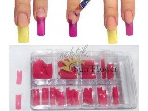 Kazeta tipů 120ks - růžové