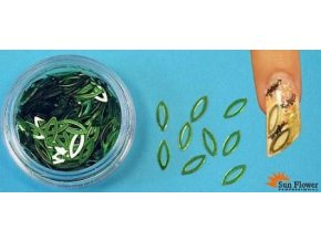 Zdobení nehtů - Očíčka KO14 zelené