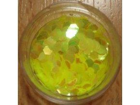 Šestihránky L51 barva žlutá
