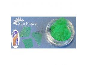 Zdobení nehtů - Barevné listí LI28 zelené