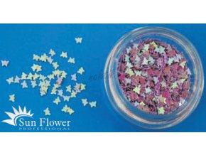 Zdobení nehtů - Motýlci MT49 fialové