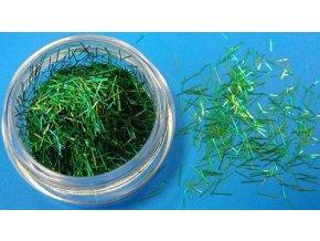 Zdobení nehtů Hologramové nitě T38 zelené