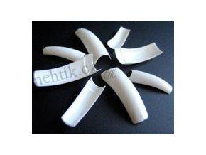Nehtové tipy bílé č.04 25ks She-Nails výprodej