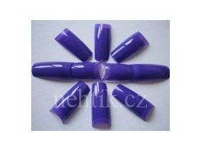 Nehtové tipy modré průsvitné BOX 100ks She-Nails výprodej