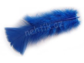 Peří modré 2ks