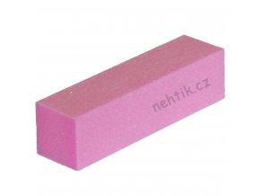 Leštící blok čtyřstranný, růžový velmi jemný