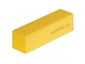 Leštící blok čtyřstranný, žlutý velmi jemný