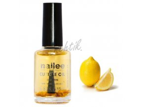 Olejíček na nehty květina - citrón