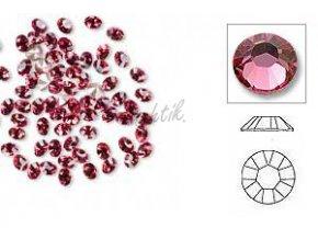 Broušené zirkonky růžové 50ks