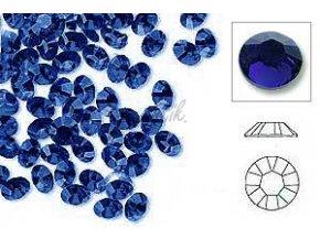 Broušené zirkonky tm.modré 50ks
