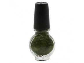Speciální lak na nehty Konad zelený perleť 11ml