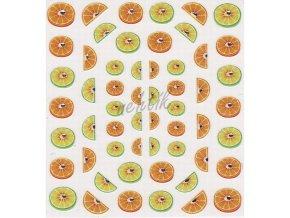 Samolepky ovoce - citron