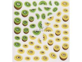 Samolepky ovoce - kiwi
