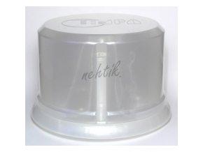 Box na buničinu perleťový bílý