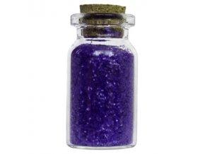 Glitry v lahvičce tmavě modré
