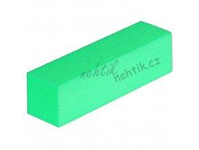 Leštící blok čtyřstranný, zelený velmi jemný