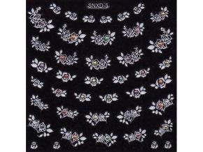 Samolepky kamínek - SNXD-05 bílé