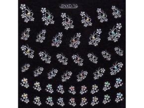 Samolepky kamínek - SNXD-10 bílé