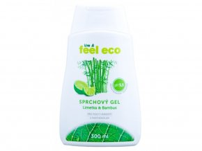 feel eco sprchovy gel limetka bambus