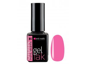enii nails gel lak pastel magenta