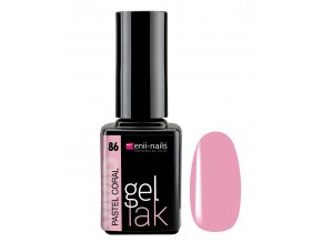 enii nails gel lak pastel coral