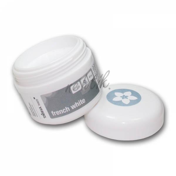 UV gel mléčně bílý French White 10g Tasha