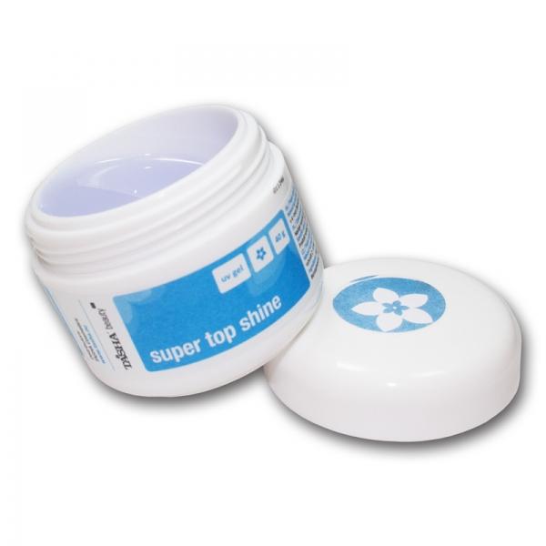 Tasha UV gel Super Top Shine 10 g vrchní lesk