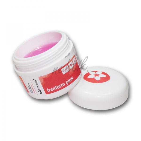 Modelovací UV gel Free Form Pink 40ml Tasha