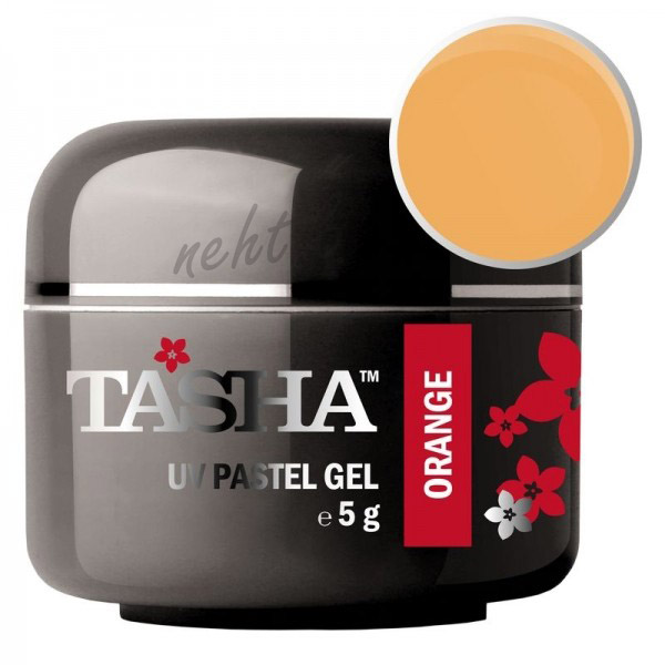 Uv gel barevný Tasha Pastel Orange 5g - Black Line